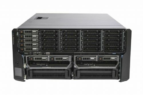 Dell PowerEdge VRTX Rack Chassis 5x 1TB + 2x M620P 2x E5-2630L 16GB Ram 2x300GB